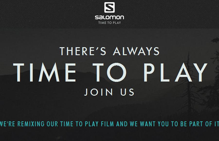 Salomon lanza un vídeo inspirador para el debut de la campaña 'Time to Play'