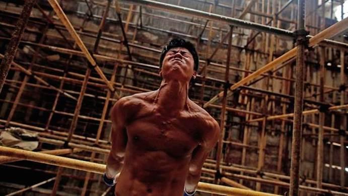 Un albañil chino muestra un vídeo con su entrenamiento y se vuelve viral