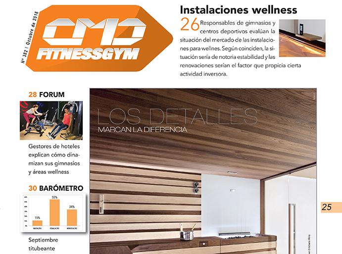 Las renovaciones sostienen el wellness