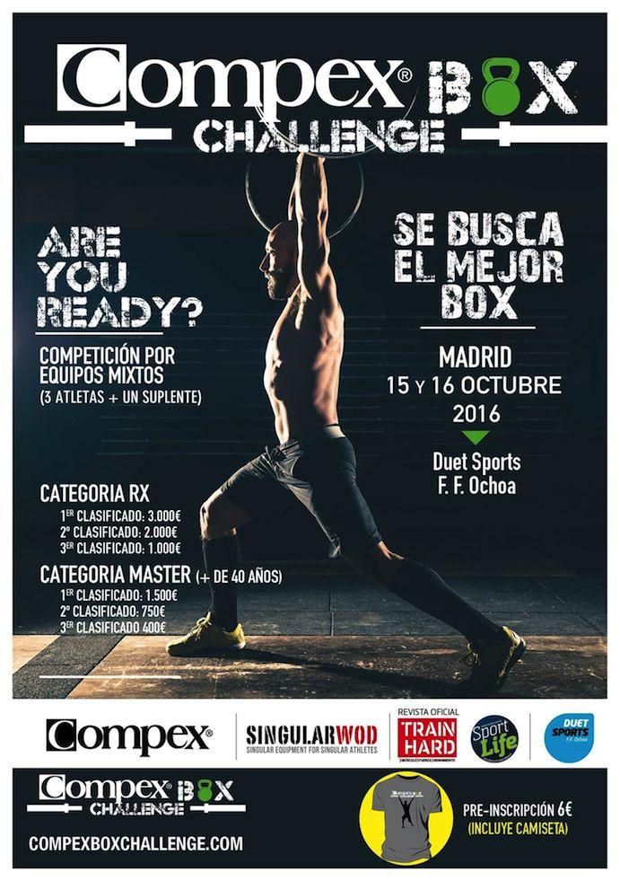 La Compex Box Challenge decidirá cuál es el centro de CrossFit más en forma
