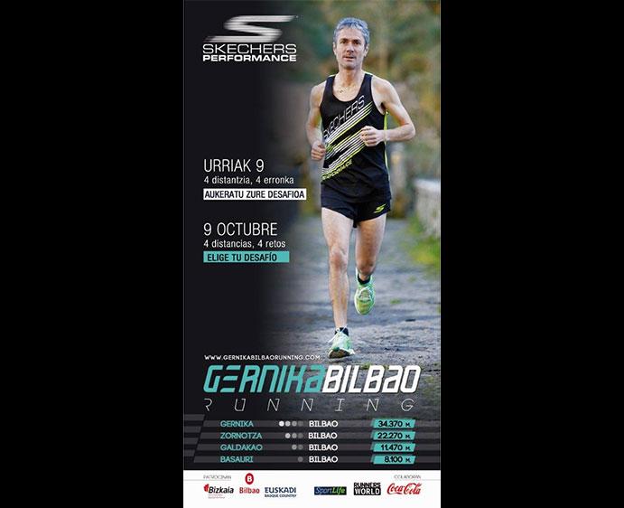 Skechers se suma a la I Gernika-Bilbao Running