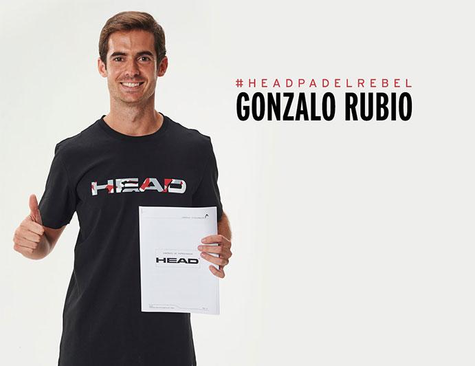Gonzalo Rubio renueva con Head hasta 2018