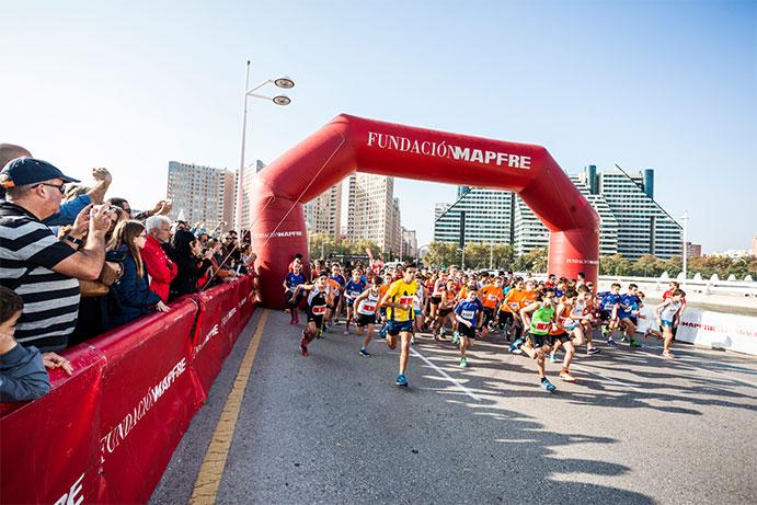 El Mini Maratón Valencia para niños abre inscripciones