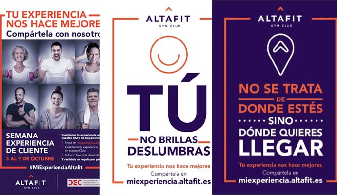 """Altafit busca sorprender a sus abonados en la """"Semana Experiencia de Cliente"""""""