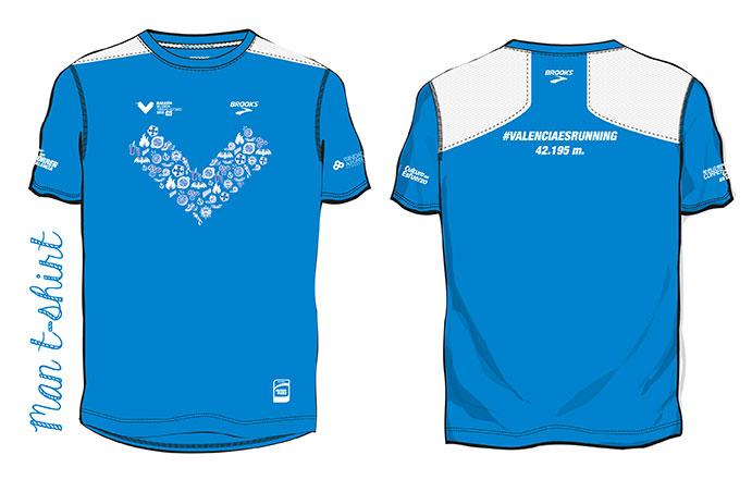 Brooks presenta las camisetas para el Maratón y 10k de Valencia