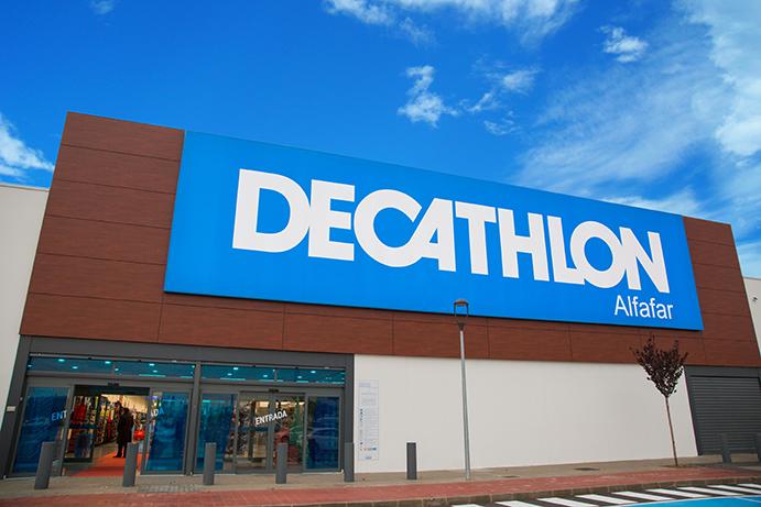 Decathlon relocaliza su tienda de Alfafar