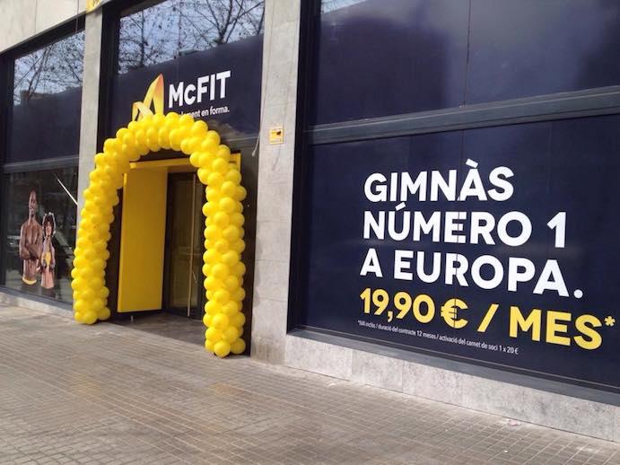 Los gimnasios de McFit España se adscriben a Gymforless
