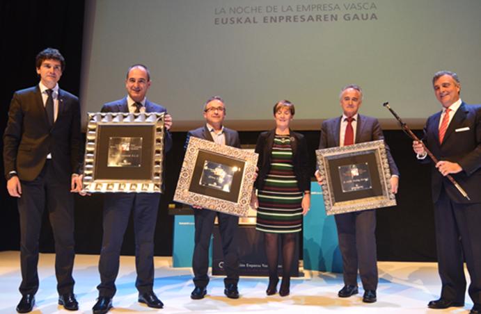 Orbea recibe el premio 'Made in Euskadi'