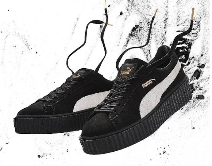 Las zapatillas Puma de Rihanna reciben el premio 'Zapato del año'