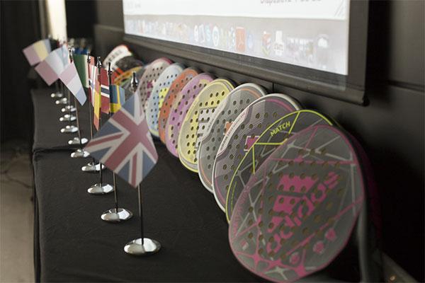 Representantes de 11 países acuden a los II International Padel Days de Adidas Padel