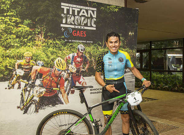 Diego Tamayo se impone en la Titan Tropic Cuba