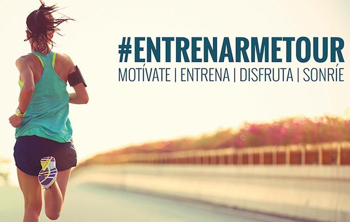 Entrenarme inicia su gira #EntrenarmeTour con Sprinter