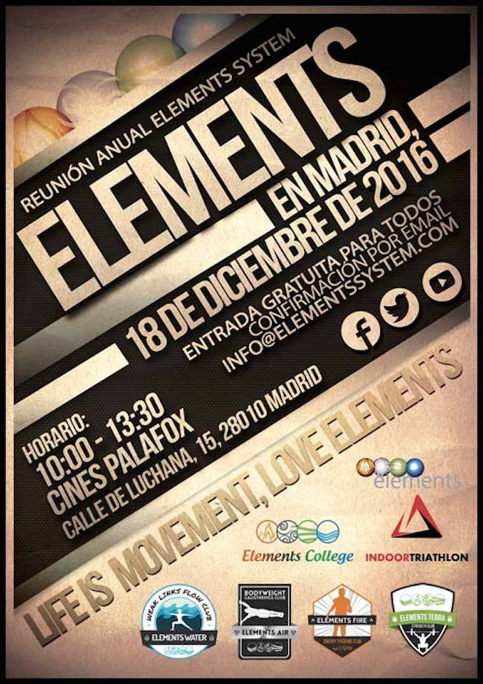 Nuevo encuentro anual Life is Movement, Love Elements