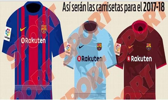Desvelado el diseño de las camisetas del Barça para el 2017-18