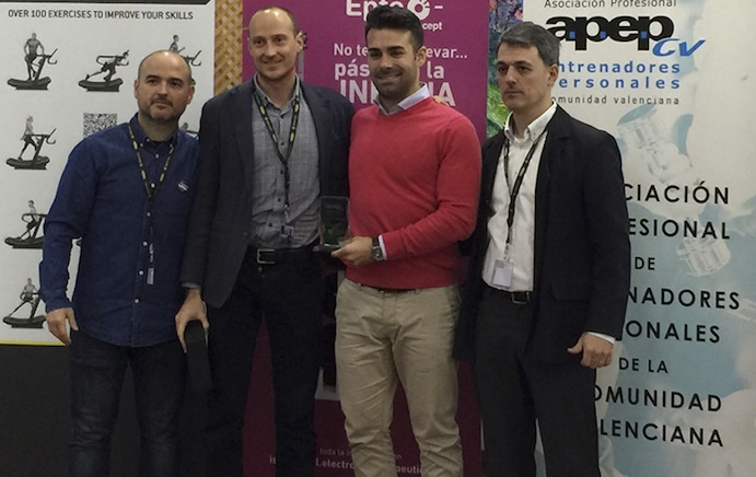 La plataforma Entrenarme, premio a la profesionalización del sector