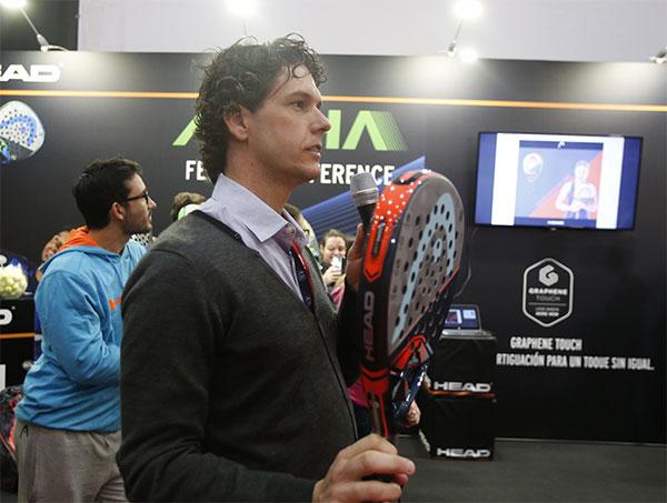 Head crecerá un 10% en deportes de raqueta en 2016