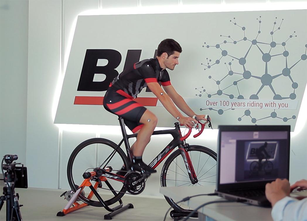 BH estrena un sistema pionero de STT Systems para hacer estudios biomecánicos