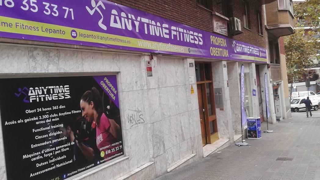 Anytime Fitness ultima la apertura de su club más grande de Barcelona
