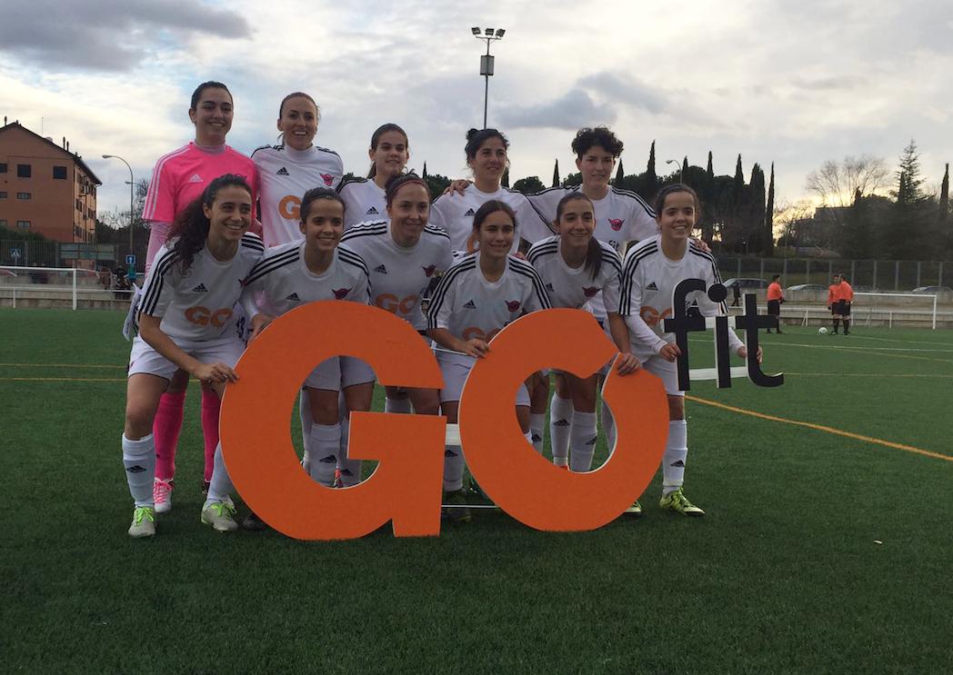 GO fit apoya el deporte femenino como nuevo patrocinador del CD Tacón