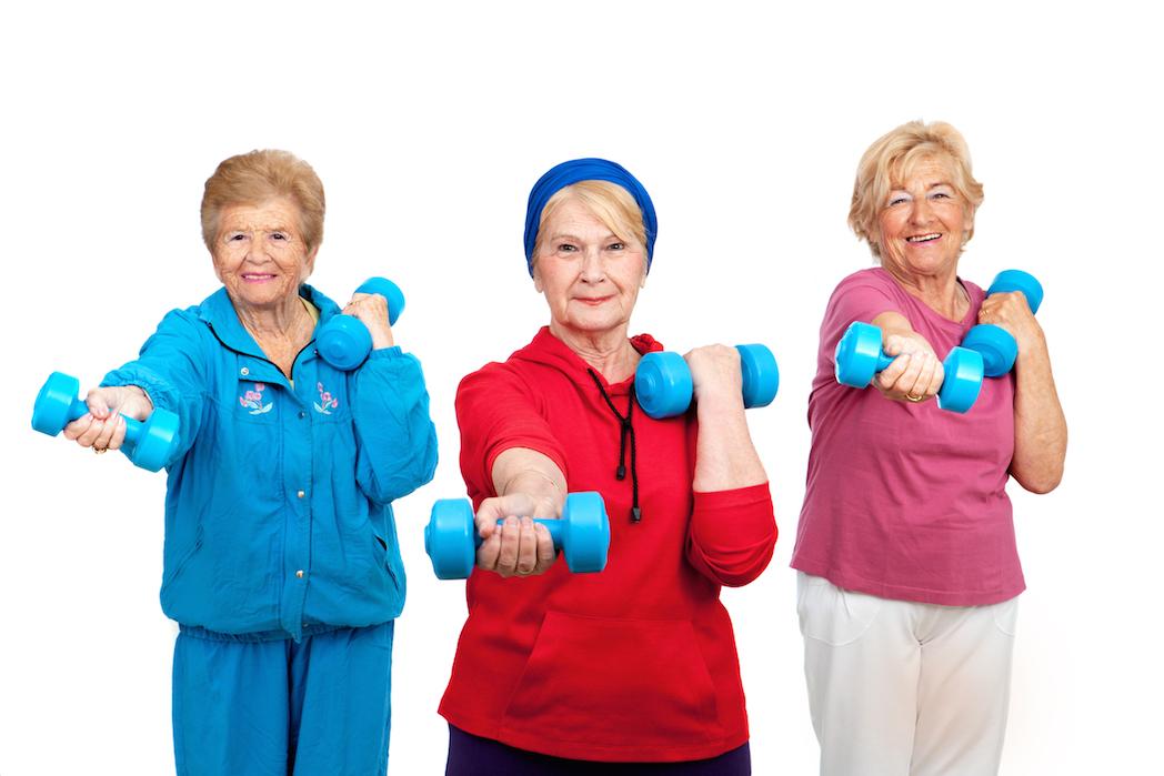 Consejos para practicar fitness a partir de los 60 años