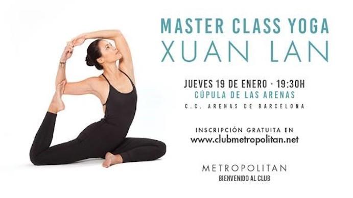 Metropolitan refuerza su apuesta por el yoga con Xuan-Lan
