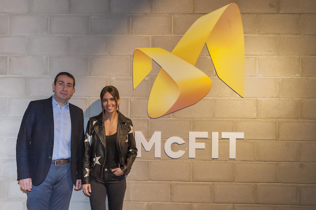 Mcfit y Cristina Pedroche inauguran el primer gimnasio en el metro de Madrid
