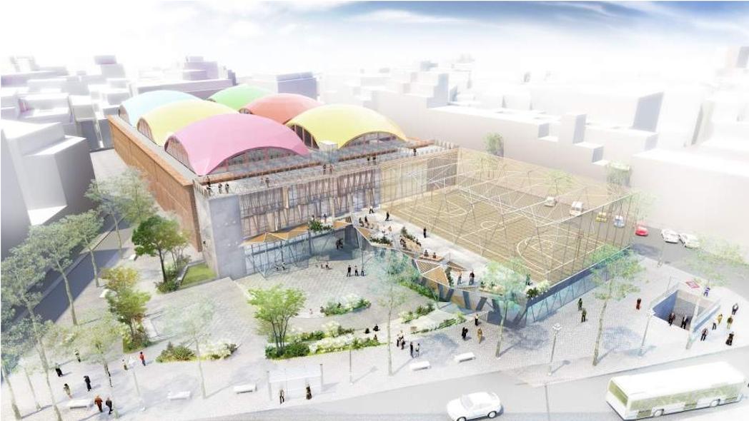 Madrid construirá un gimnasio cogestionado por vecinos y Ayuntamiento