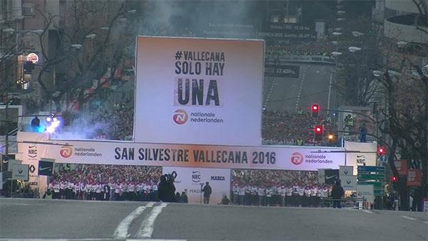 Ni el frío ni la contaminación lastran una San Silvestre Vallecana con podio español