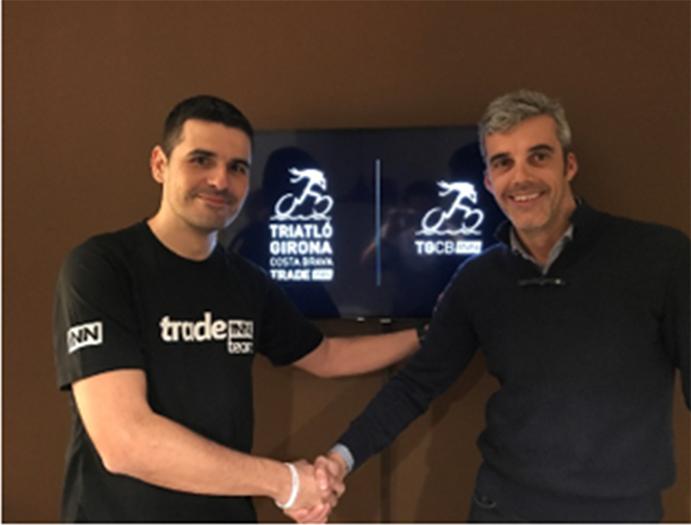 El Club Triatló Girona Costa  Brava y Tradeinn refuerzan sus lazos