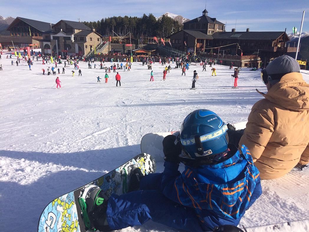Las estaciones de Andorra recibieron más esquiadores esta Navidad