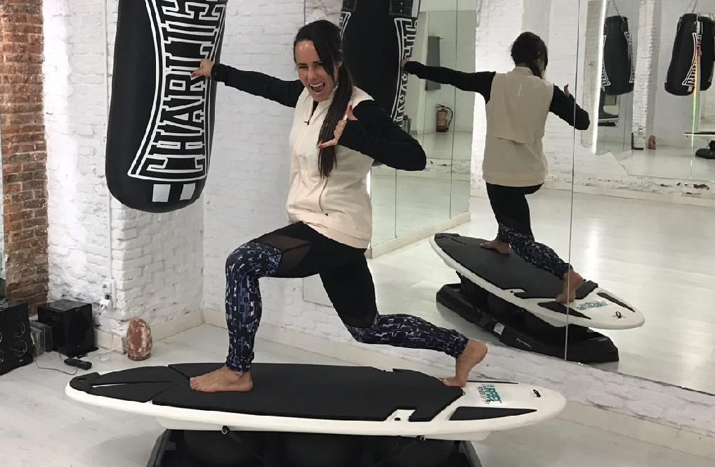 Cómo surfear en el gimnasio con el Surfset