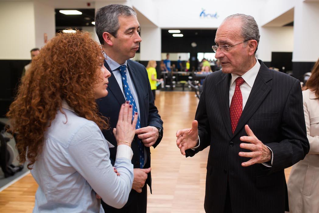 Forus Trinidad, inaugurado oficialmente con el alcalde de Málaga