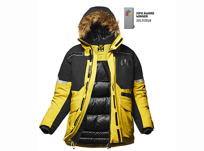 Helly Hansen recibe un Ispo Award por su 'Expedition Parka'