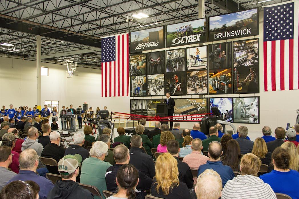 Life Fitness invierte 10 millones en ampliar una fábrica de Cybex