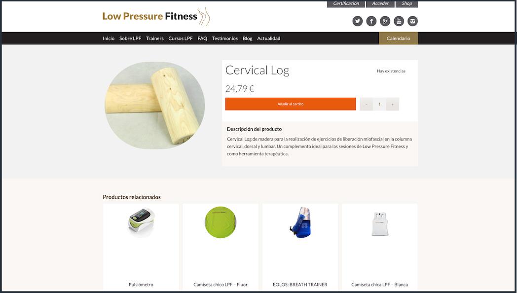Low Pressure Fitness se adentra en el e-commerce con LPF Store