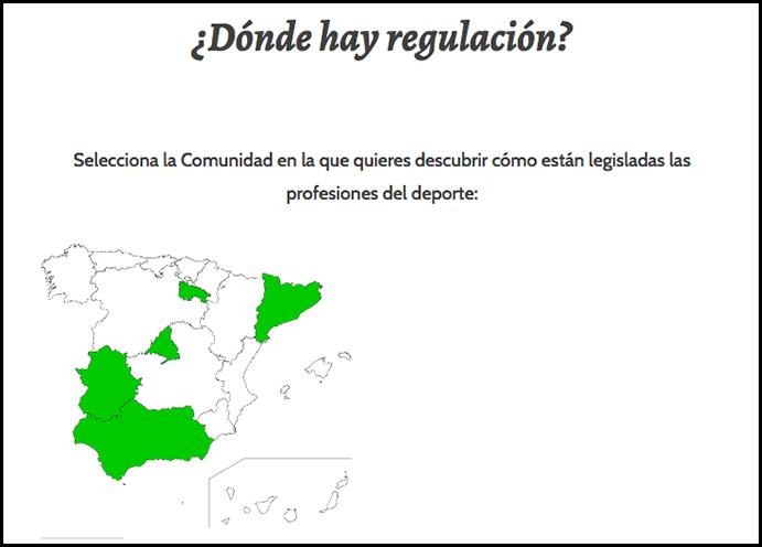 Coplef Madrid estrena web sobre la regulación profesional en España