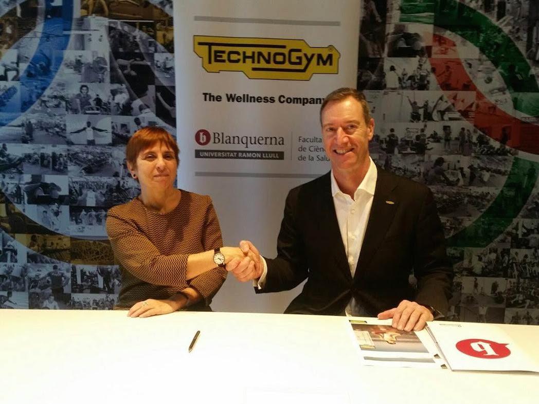 Technogym y Blanquerna colaborarán en actividades de formación