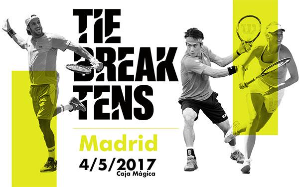 El torneo solidario Tie Break Tens aterriza en España