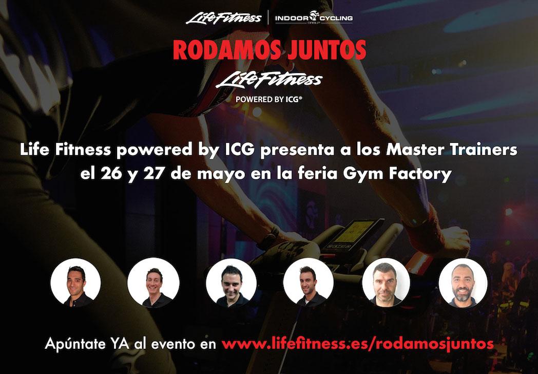 Life Fitness powered by ICG refuerza su equipo y lo presentará en Gym Factory