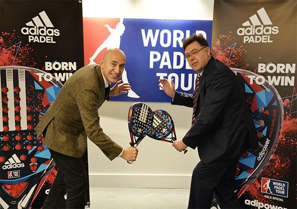 Adidas Padel, nueva pala oficial del World Padel Tour