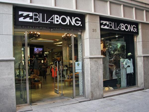 Billabong convertirá su tienda de Barcelona en la más grande de Europa