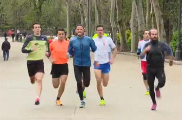 Chema Martínez ya ha seleccionado 26 de los 42 corredores para su reto