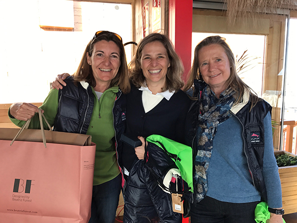 Combinada Esqui-vela Beatriz_Furest 2017 lourdes_Azon, Beatriz_Furest, Cristina_Cos-2