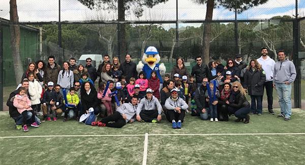 Duck Padel pondrá en marcha un tour para promocionar el pádel entre los niños