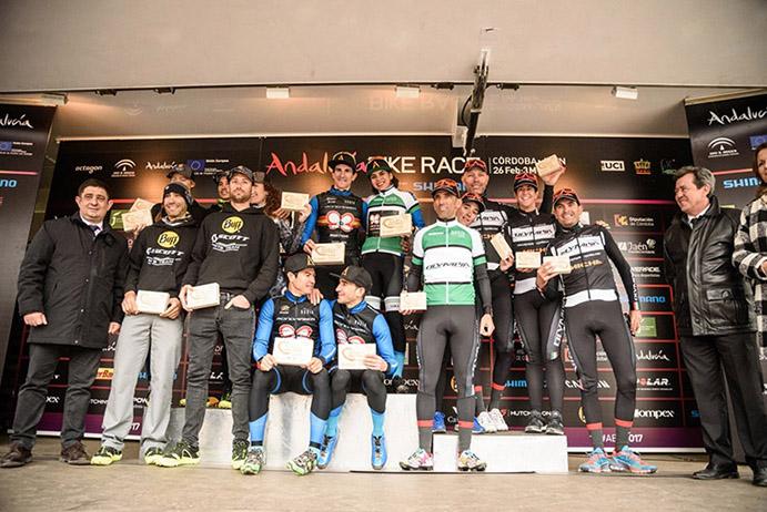 El Buff Scott MTB Team, segundo equipo más veloz en la Andalucía Bike Race