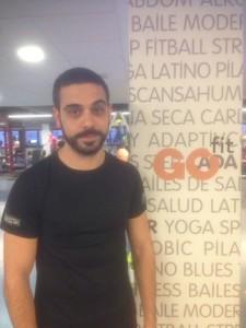 Esteban Gil, técnico de GO fit Ciudad Real