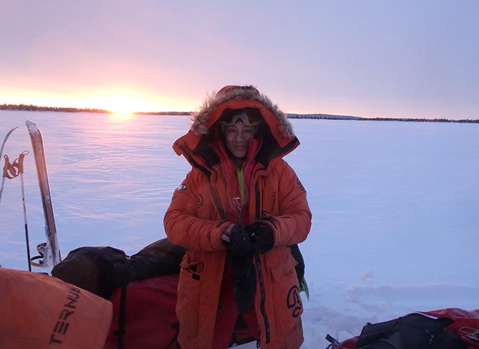 Ternua equipa a Chus Lago en la primera expedición femenina al casquete polar