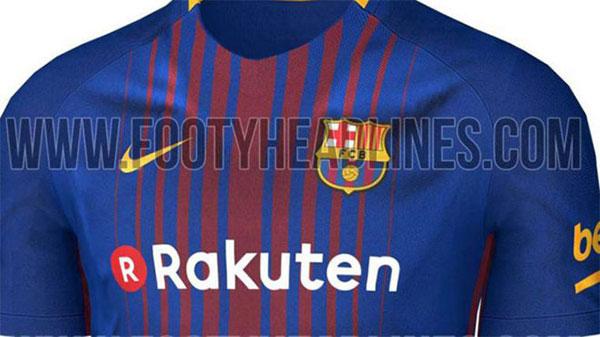Filtrada la equipación del FC Barcelona para la temporada 2017/18