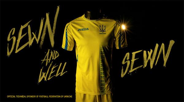 Joma patrocina a la Federación de Fútbol de Ucrania