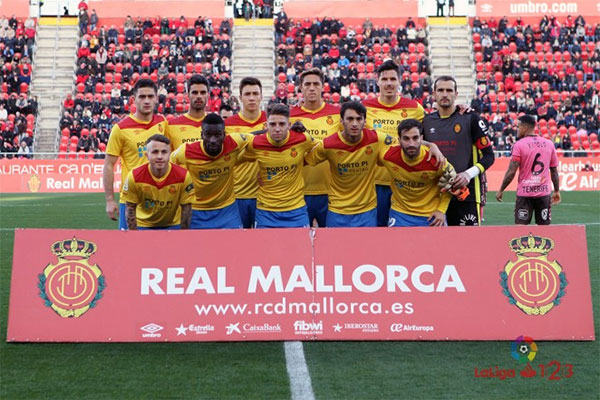 Umbro homenajea el primer ascenso a primera del Mallorca